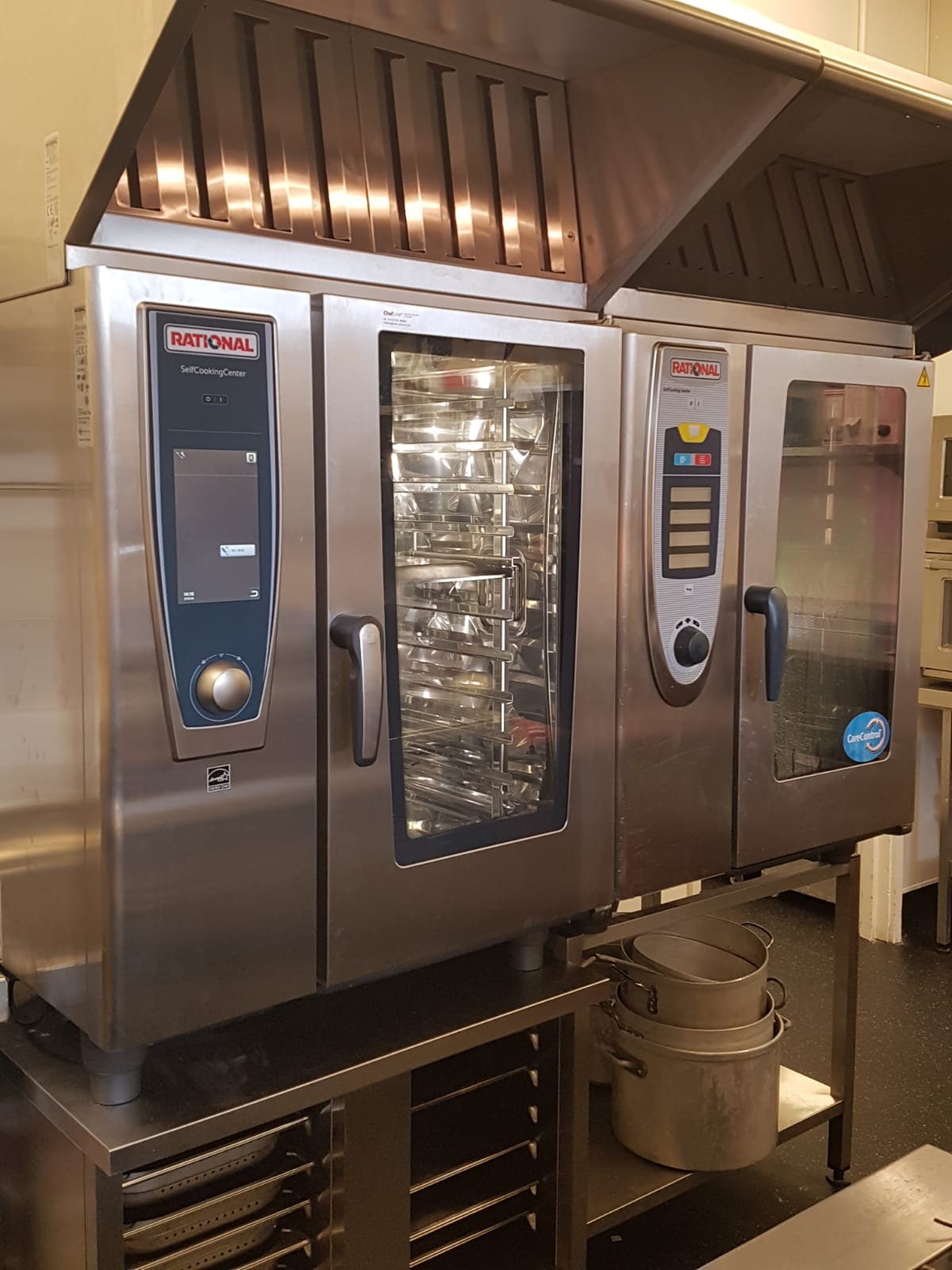 10 Grid Rational Combi Oven With Ultravent Catermek